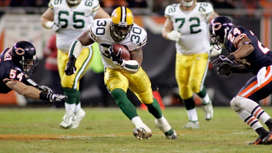 Ahman Green Packers FBN