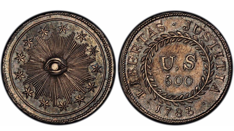 Alexander Hamilton coin 2 FBN AP