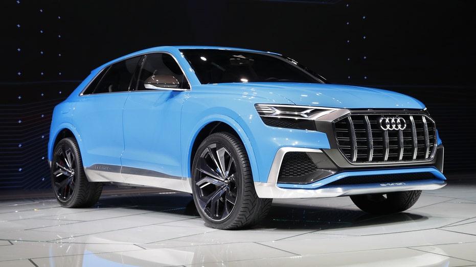 Audi Q8 Detroit auto show FBN