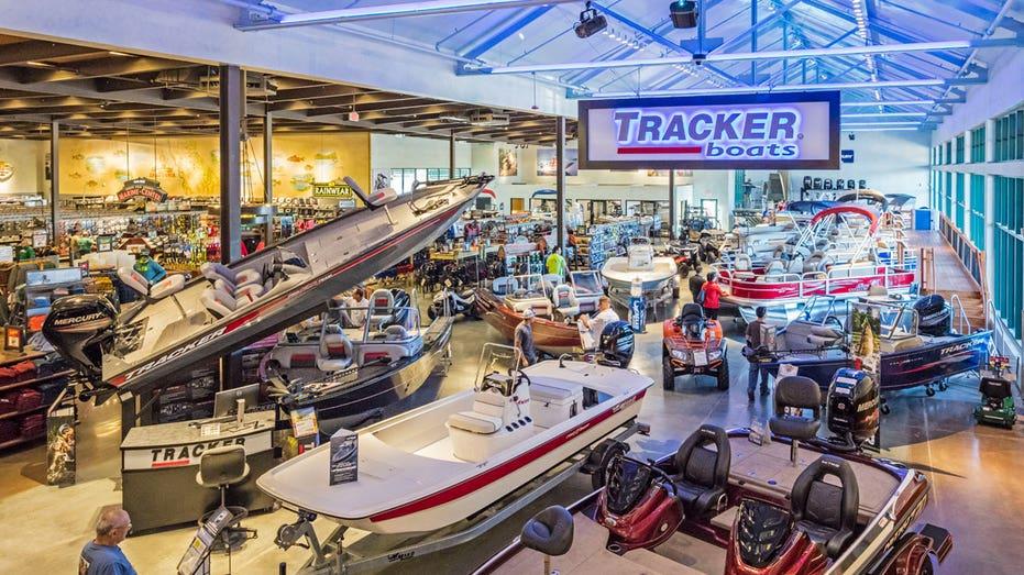 Bass Pro Shops Tracker boats FBN
