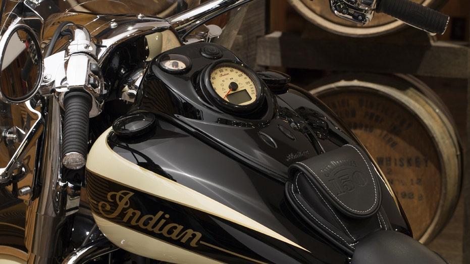 Indian Motorcycle Jack Daniel's Springfield closeup