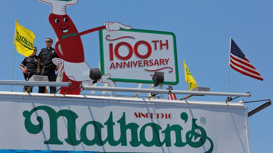 Nathan's hot dog restaurant New York FBN