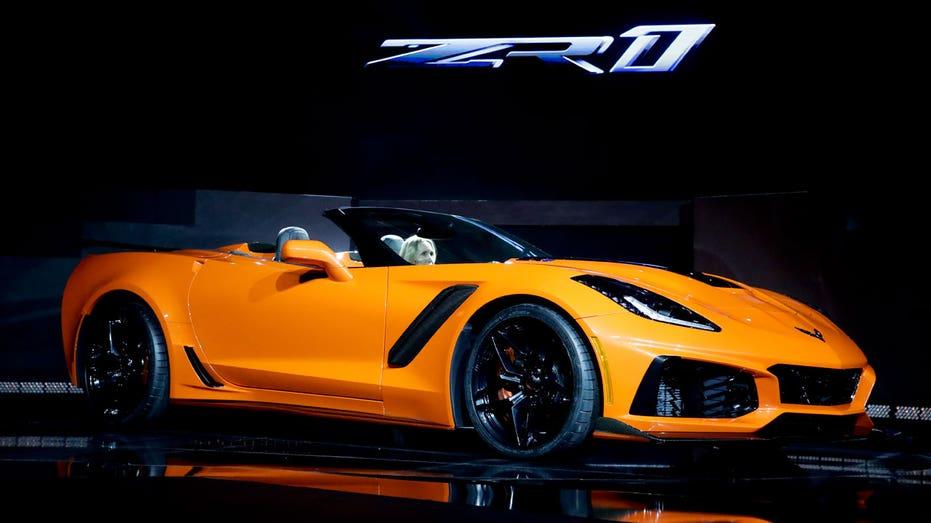 LA Auto Show Chevrolet Corvette ZR1 AP FBN
