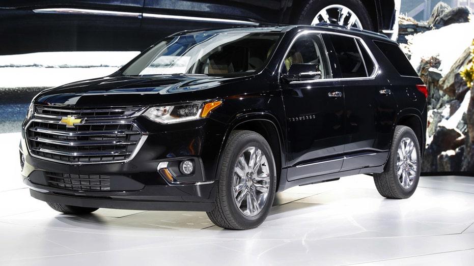 Chevrolet Traverse Detroit auto show FBN