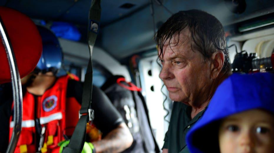 Evacuees  Reuters  U.S. Coast Guard