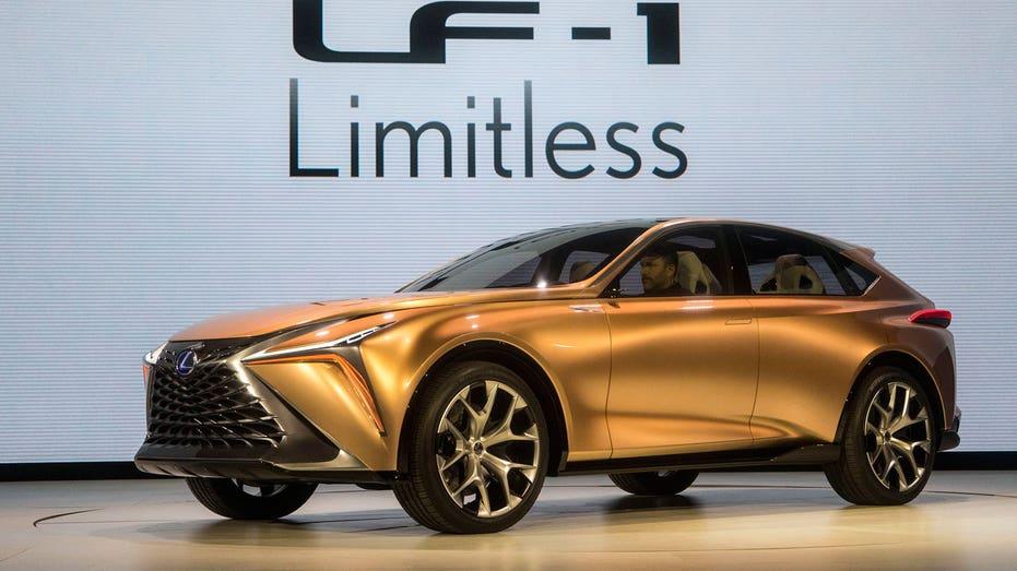 Lexus LF-1 Limitless concept, Detroit auto show AP FBN