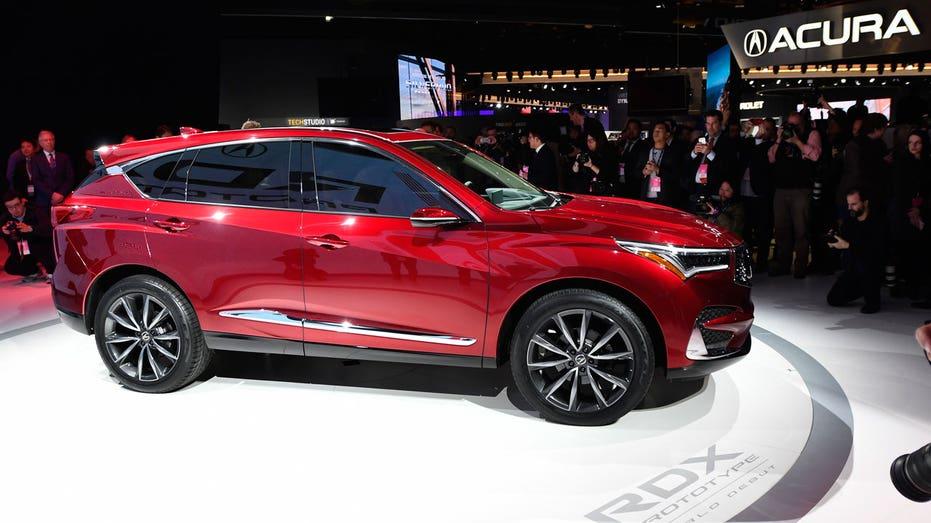 Acura RDX prototype, Detroit auto show AP FBN