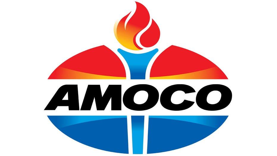 Amoco gas station logo FBN