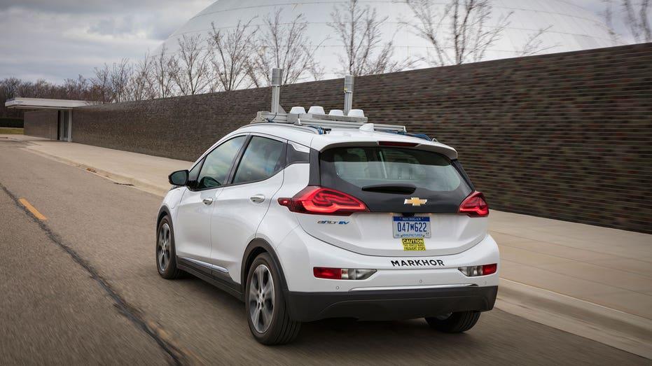GM Chevrolet Bolt self-driving test FBN