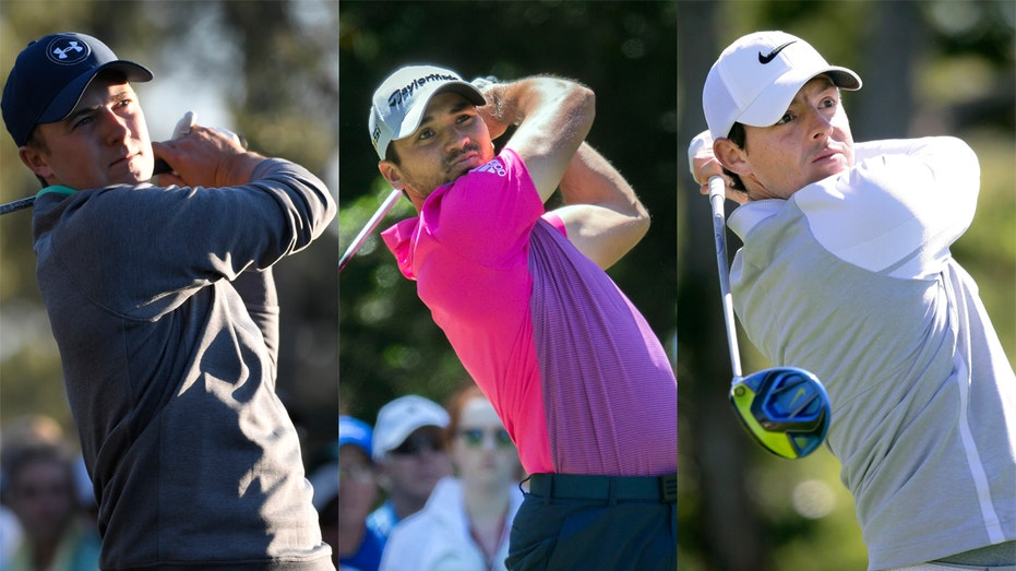 Spieth, Day, McIlroy Collage