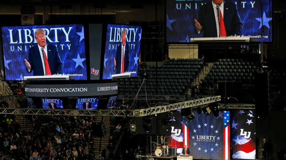 Trump at liberty university