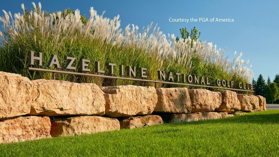 RESTRICTED: Hazeltine Golf Course Entrance FBN