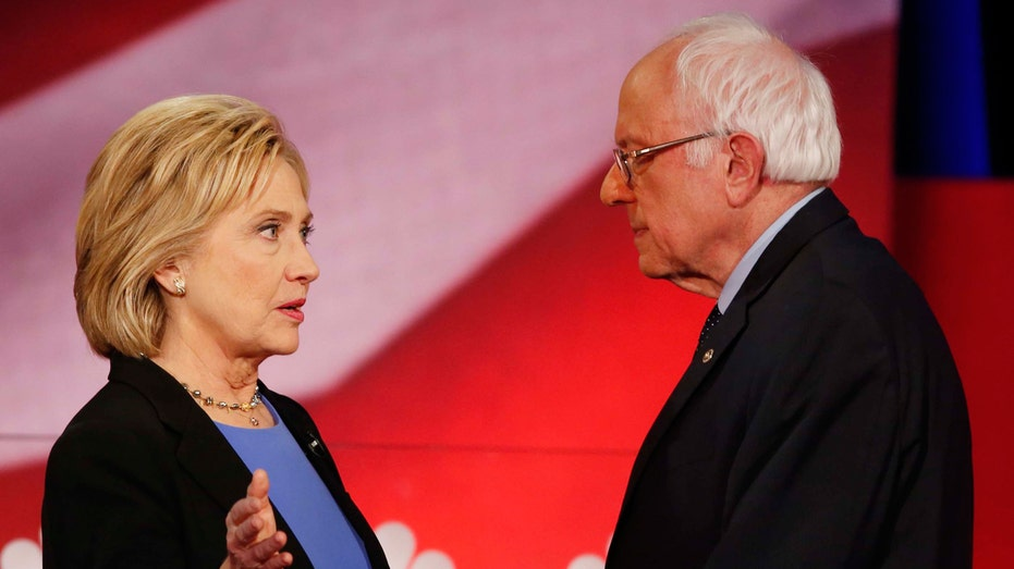 FBN Hillary Clinton Bernie Sanders, Hillary and Bernie