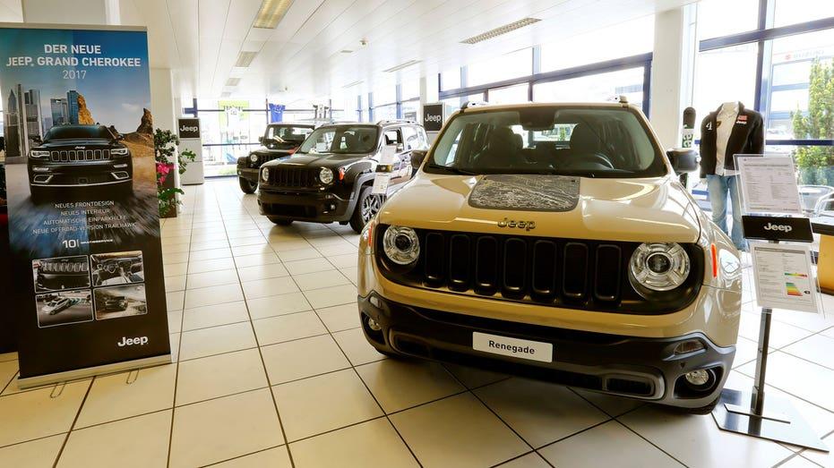 Jeep Renegade in Swiss dealership FBN