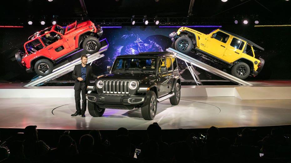 LA Auto Show Jeep Wrangler FBN