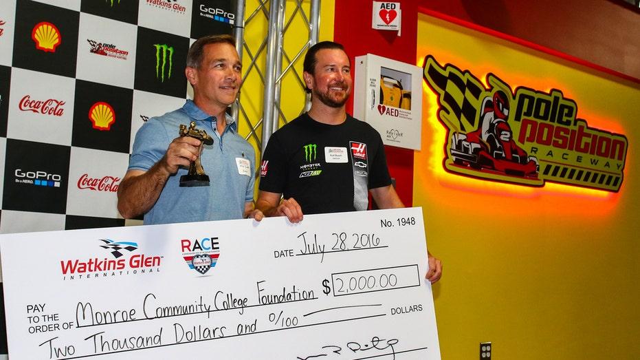 Kurt Busch and Xerox NASCAR FBN