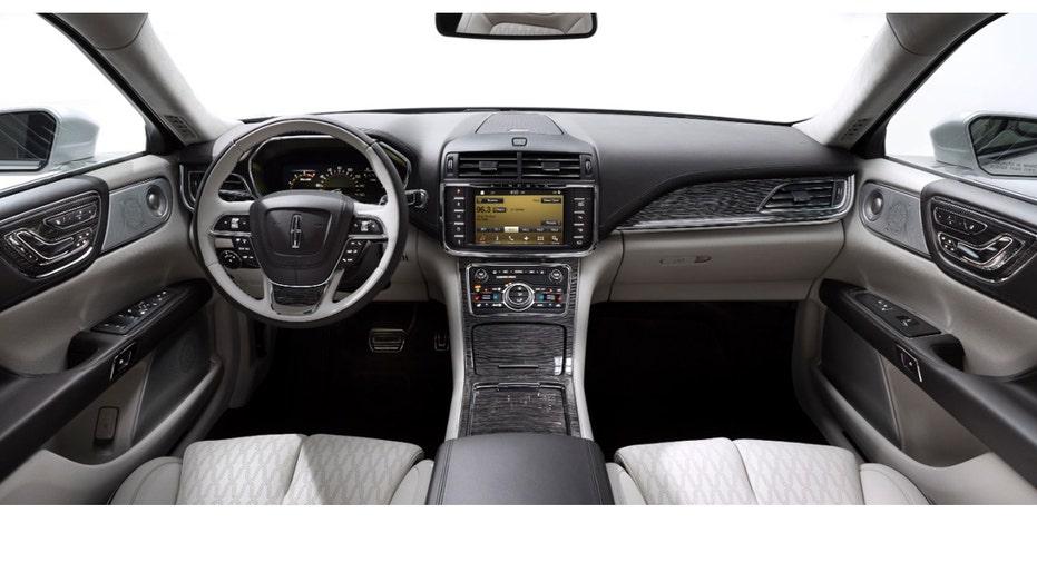 Lincoln Continental interior FBN