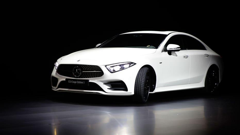 LA Auto Show Mercedes CLS AP FBN