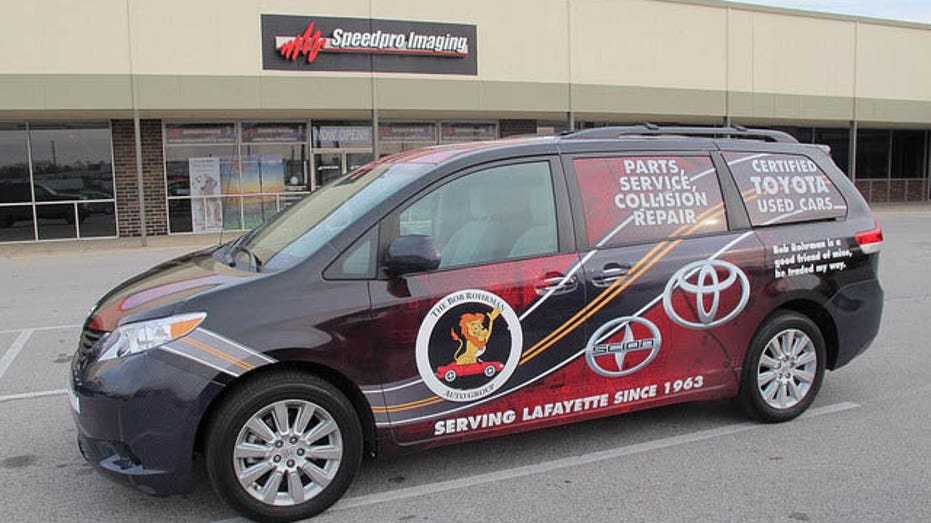 SpeedPro Imaging Minivan FBN