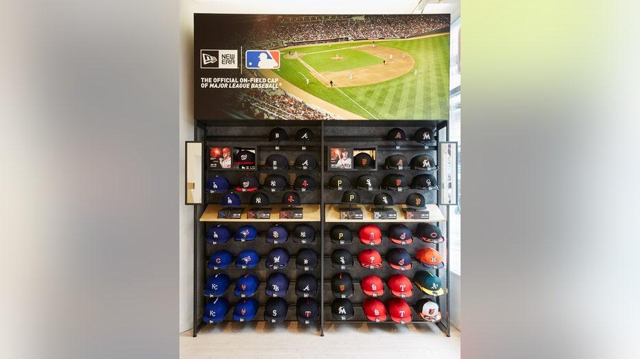 MLB London store caps FBN