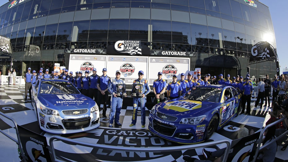 NASCAR Daytona 2017 pole winners FBN