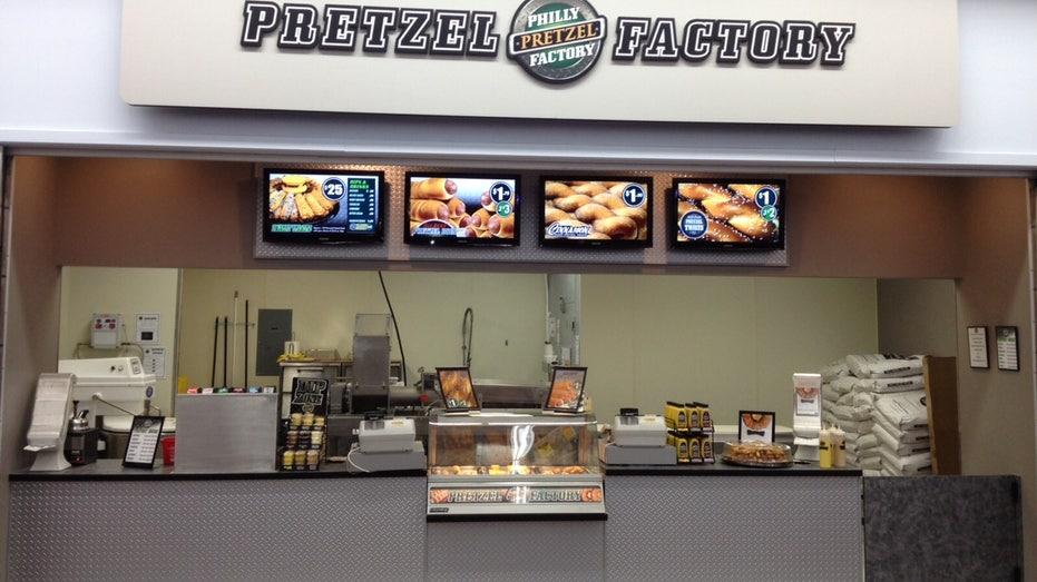 Philly Pretzel in Walmart FBN