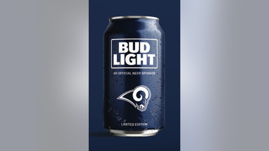 Rams Budlight can