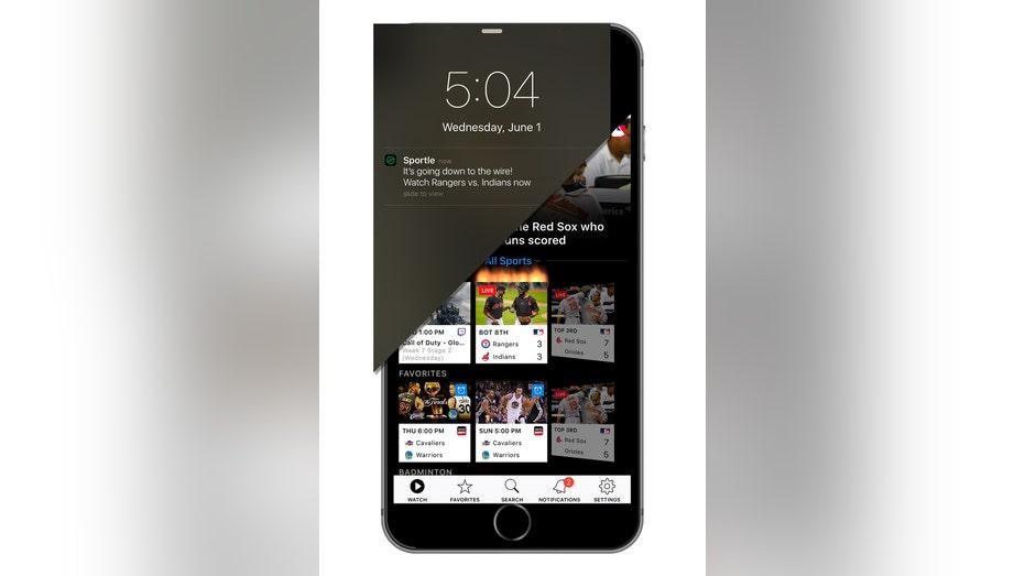 Sportle app notifaction FBN