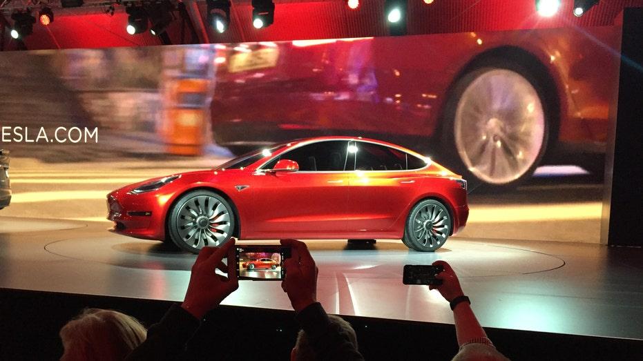 Tesla Model 3 prototype FBN