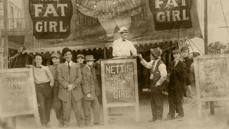 Nettie the fat girl, plus size