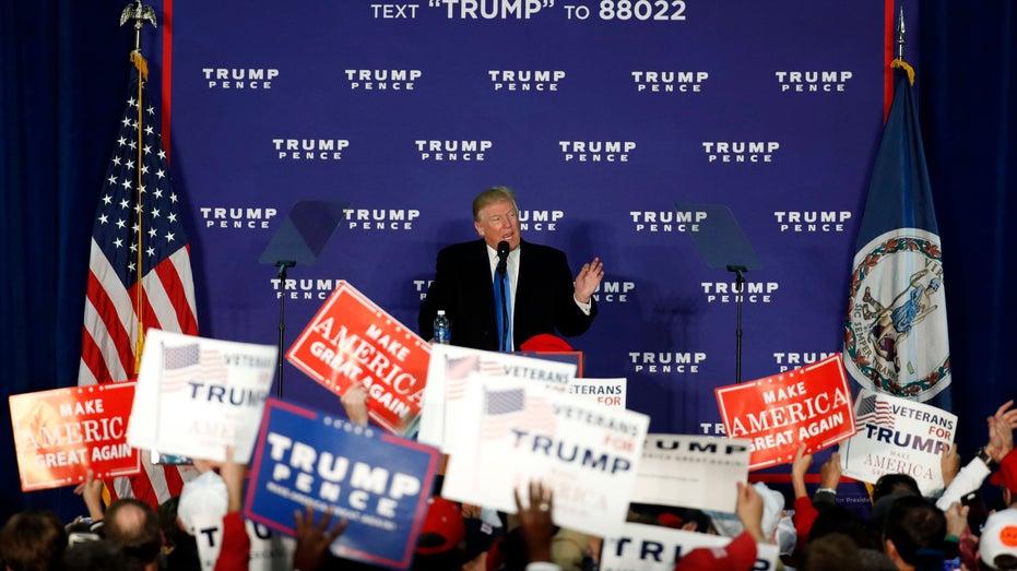 Donald Trump 2016 Virginia rally FBN
