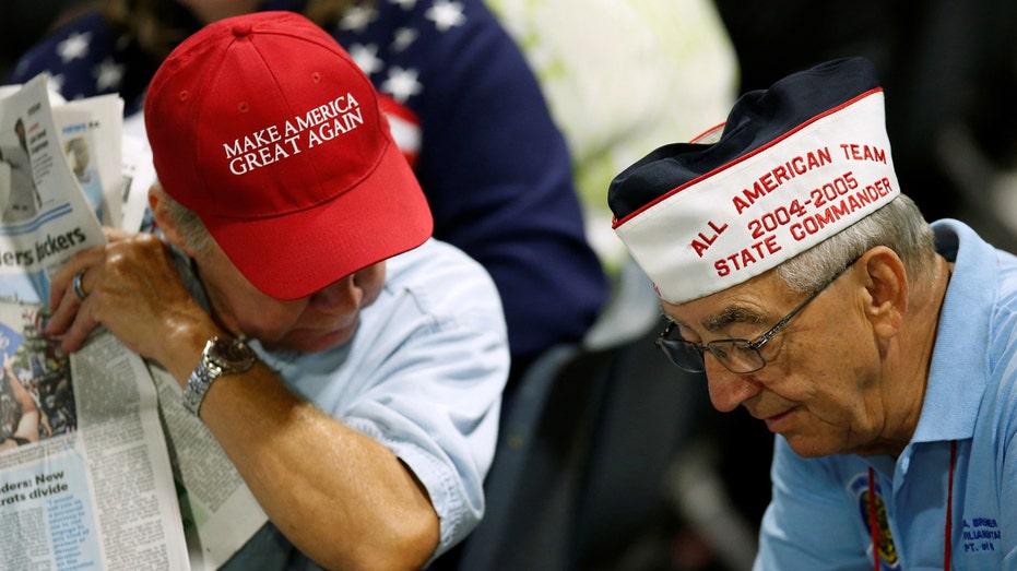 Donald Trump military veterans FBN