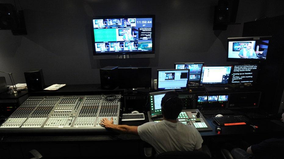 TV, Media, Control room FBN