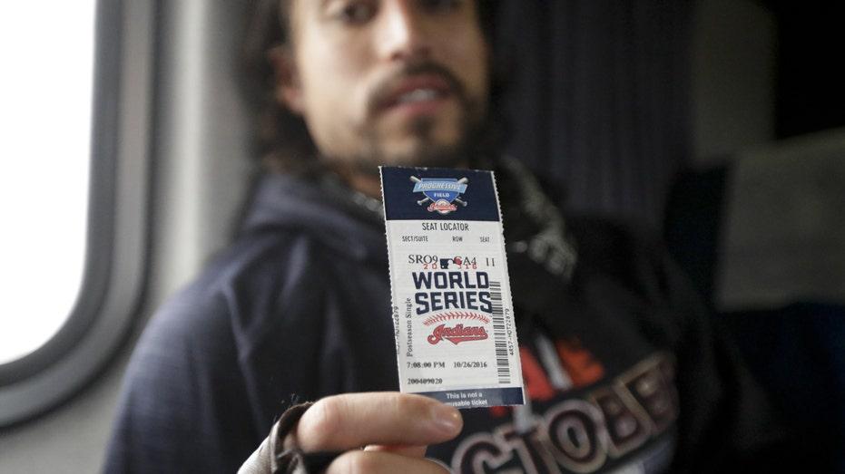 World Series ticket 2016 FBN