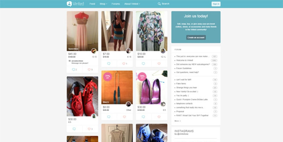 189a2d236f415 Appealing to people who own and want vintage clothing, Vinted gives you  access to a community of vintage buyers on the quick. Take a picture of the  item, ...