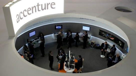 Accenture trims profit margin forecast as spending grows; stock dives