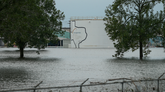 Residents near Harvey-damaged chemical plant wary of water