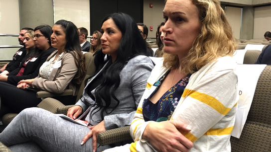 Victims' families urge California to end gun investments