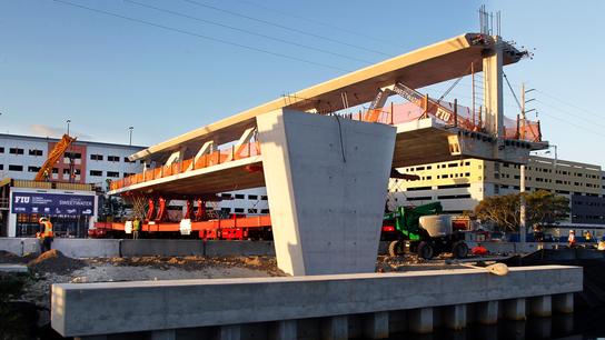Rapid building technique gets scrutiny after bridge collapse