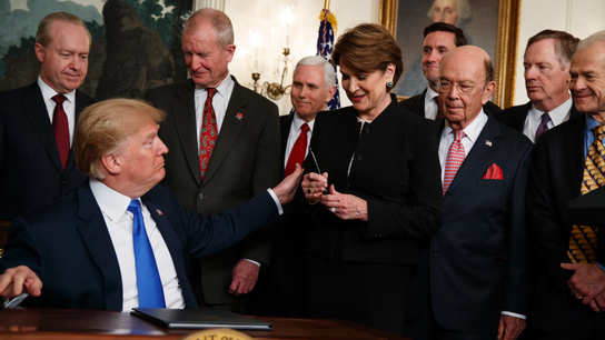 The Latest: US exempts allies from steel, aluminum tariffs