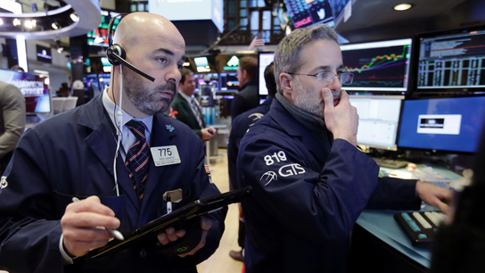 Markets Right Now: Industrials, banks weigh on stock prices