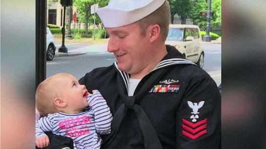 Trump's pardon of US Navy sailor has mother overcome with joy