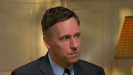 Peter Thiel: Silicon Valley is a 'totalitarian place'