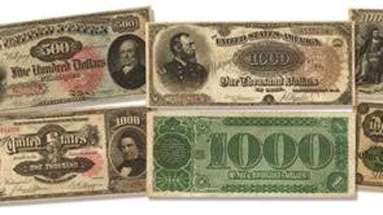 This is the rarest, most valuable US bills collection on the planet