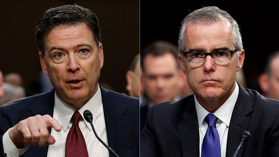 McCabe, Comey appeared 'very inconsistent' under oath: Alan Dershowitz
