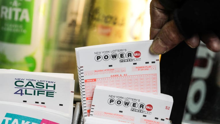 Powerball says a $457 million winning ticket was sold in Pennsylvania