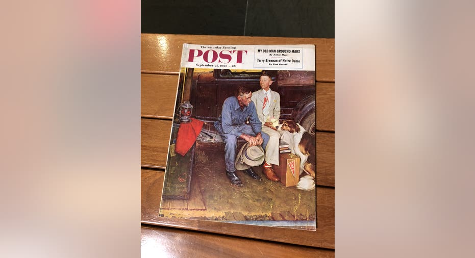 Mystery of Norman Rockwell fake leads to $15 million