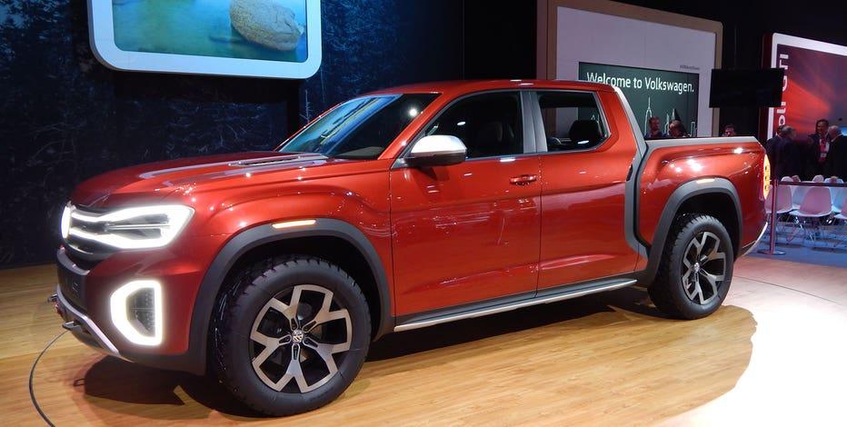 Volkswagen Atlas Cross Sport SUV concept unveiled