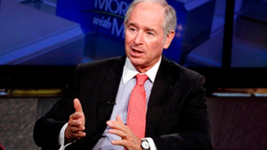 US economy on track, but avoid retail: Blackstone's Schwarzman