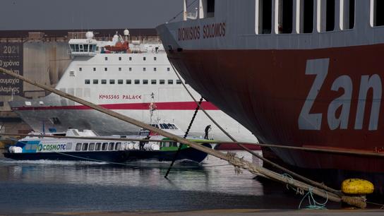 Strike extended, Greek ferries stuck in port until Friday
